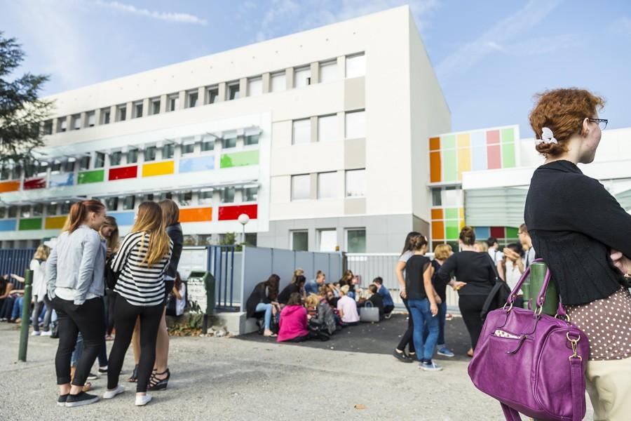 Le lycée Victor Hugo à Valence. © J. Robert