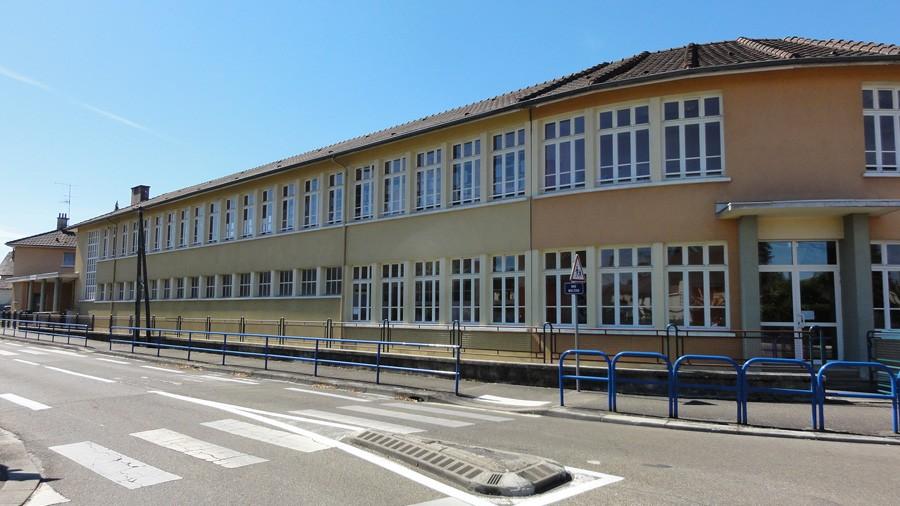 À Bourg-en-Bresse, l'école élémentaire les Vennes. © SPL Oser